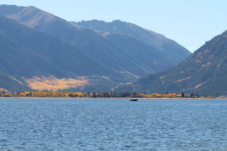 Leadville colorado and twin lakes colorado for Fishing lakes in colorado springs